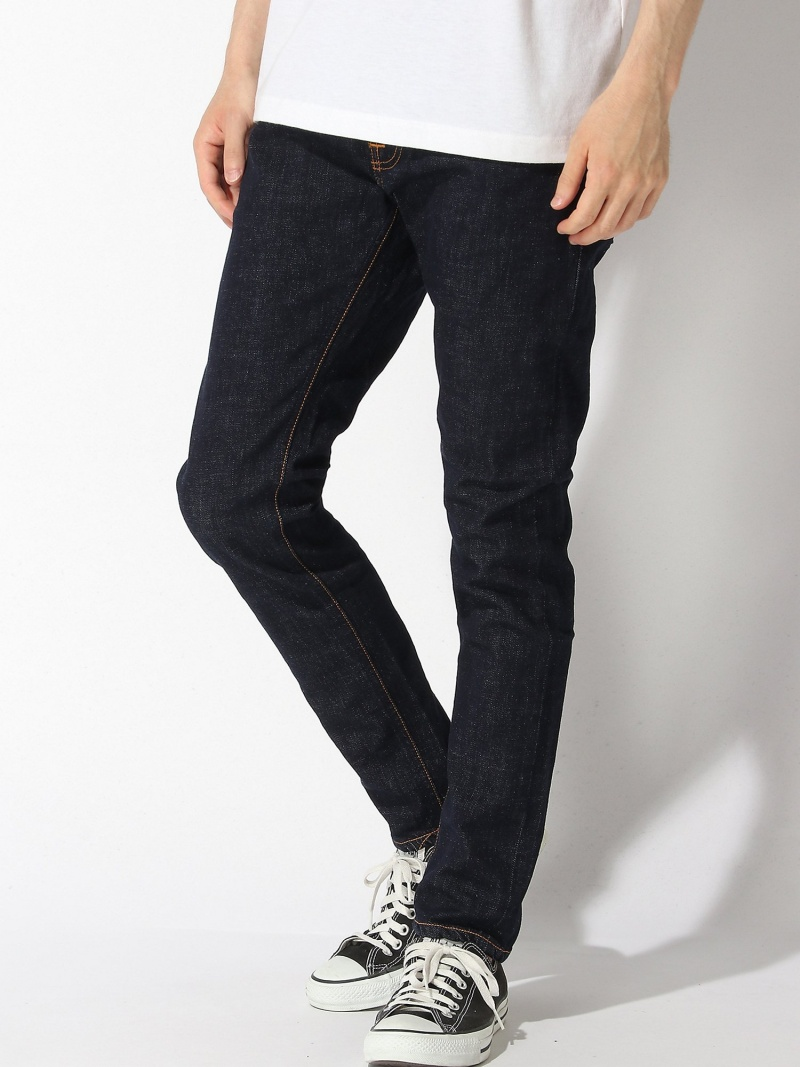 nudie jeans nudie jeans/(M)Tight Terry ヌーディージーンズ / フランクリンアンドマーシャル パンツ/ジーンズ フルレングス ネイビー【送料無料】