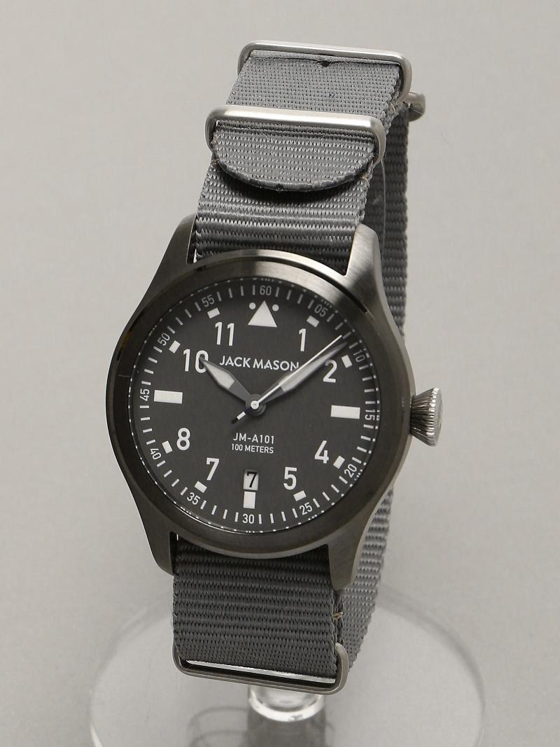 JACK MASON JACK MASON/(M)JM-A101-208 トウキョウウォッチスタイル ファッショングッズ 腕時計 ブラック【送料無料】