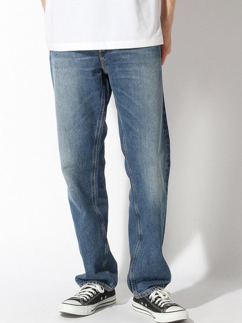 nudie jeans nudie jeans/(M)Sleepy Sixten ヌーディージーンズ / フランクリンアンドマーシャル パンツ/ジーンズ フルレングス ブルー【送料無料】
