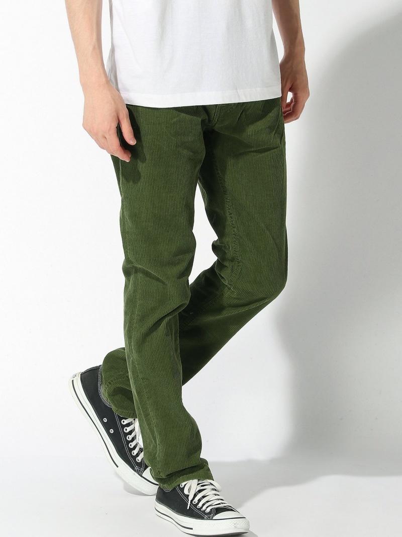 nudie jeans nudie jeans/(M)Grim Tim ヌーディージーンズ / フランクリンアンドマーシャル パンツ/ジーンズ フルレングス カーキ【送料無料】