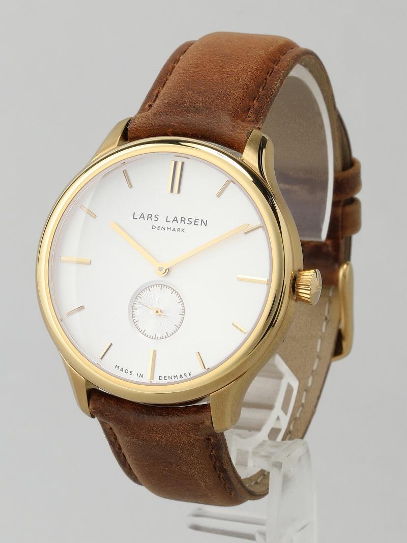 LARS LARSEN 122GBBL MADS YG brown strap 43000 ラースラーセン ファッショングッズ【送料無料】