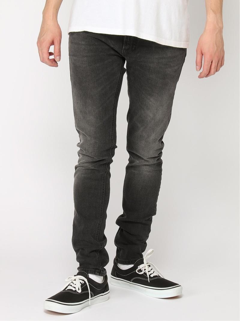 【SALE/50%OFF】nudie jeans nudie jeans/(M)Skinny Lin ヒーローインターナショナル マーケット プレイス パンツ/ジーンズ スキニージーンズ ブラック【RBA_E】【送料無料】