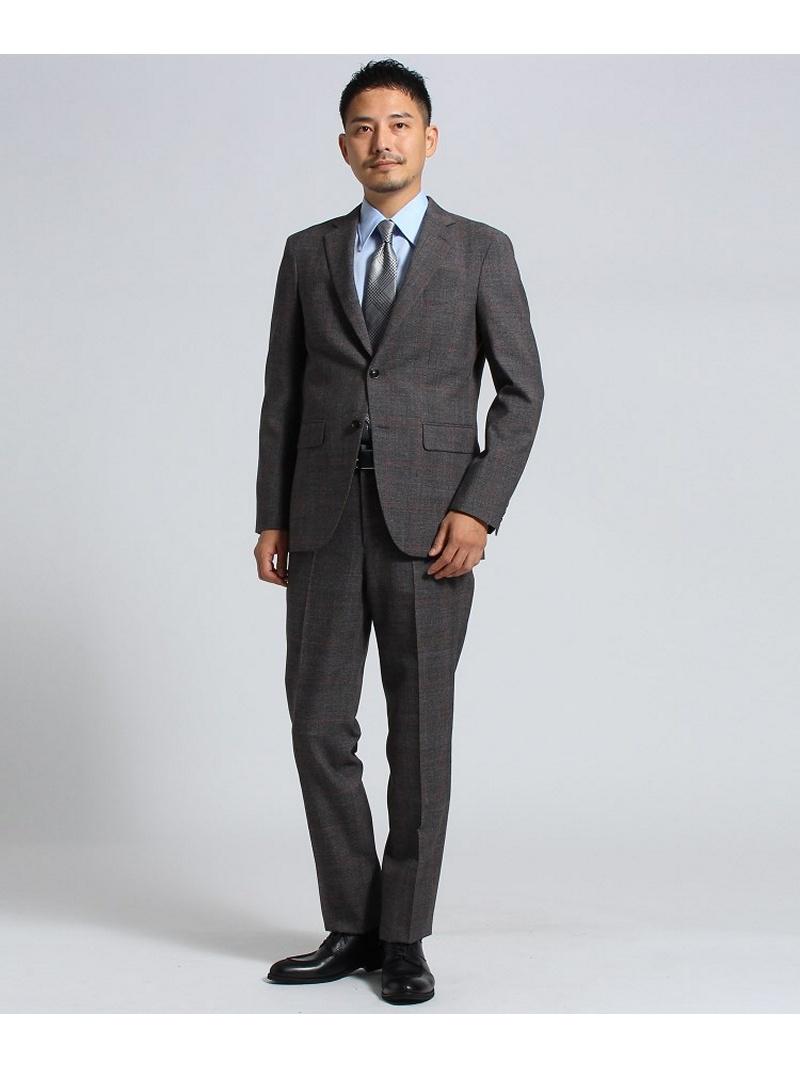 【SALE/50%OFF】TAKEO KIKUCHI 【PNJ】紡格子 2Bスーツ[ メンズ スーツ ] タケオキクチ カットソー【RBA_S】【RBA_E】【送料無料】