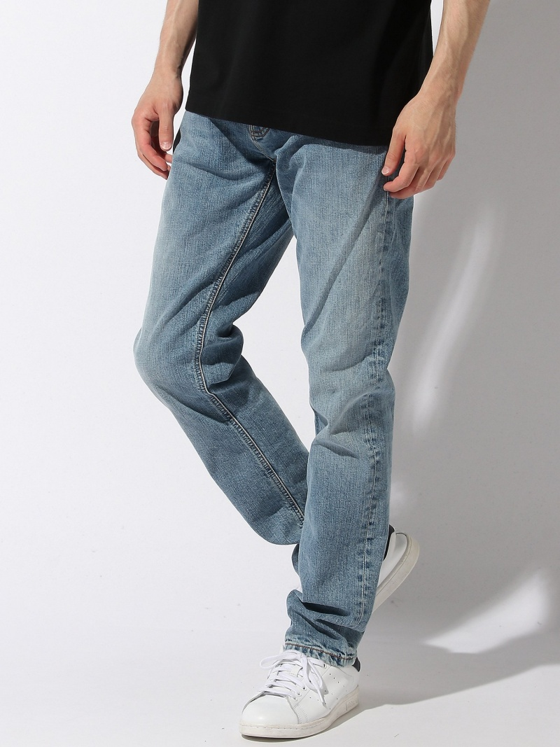 nudie jeans nudie jeans/(M)Grim Tim ヌーディージーンズ / フランクリンアンドマーシャル パンツ/ジーンズ フルレングス ブルー【送料無料】