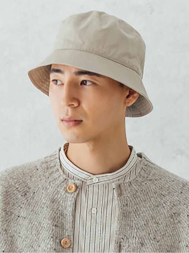Bshop メンズ 帽子 ヘア小物 ビショップ KIJIMA TAKAYUKI ハット MEN 売買 送料無料 グレー バケットハット ブラック ベンタイルギャバジン 定番キャンバス