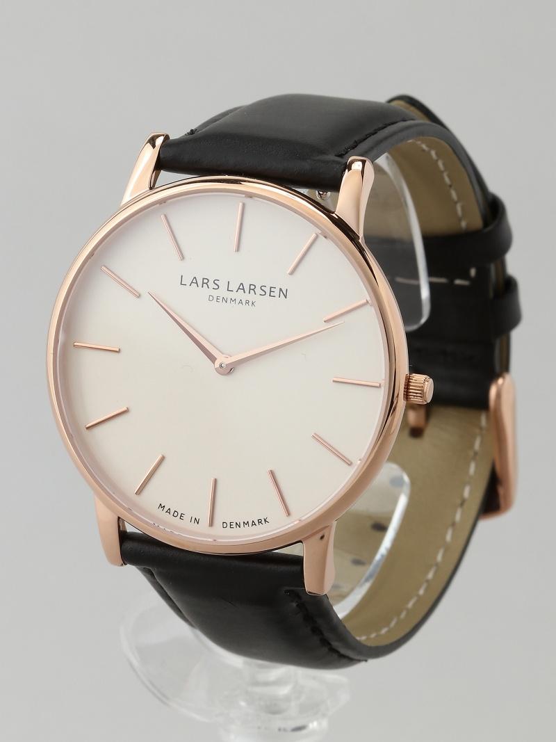LARS LARSEN 147RWBLL OLIVER RG white dial BK 25000 ラースラーセン ファッショングッズ【送料無料】