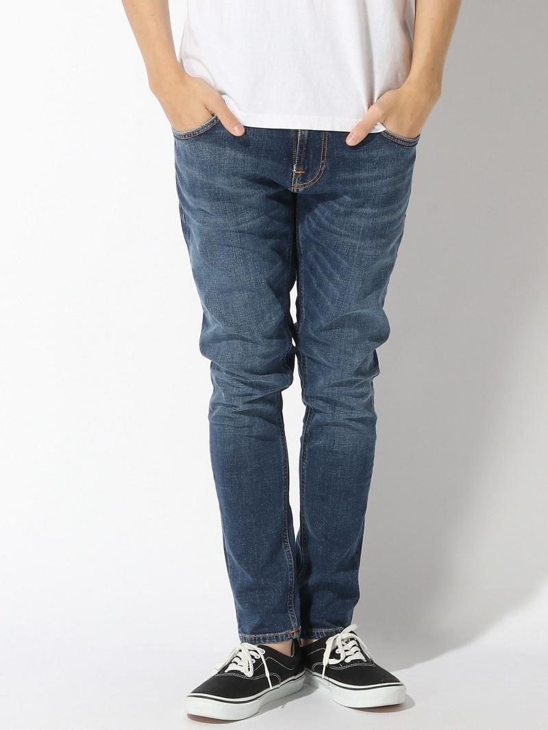 【SALE/50%OFF】nudie jeans nudie jeans/(M)Tight Terry ヒーローインターナショナル マーケット プレイス パンツ/ジーンズ ストレートジーンズ ブルー【RBA_E】【送料無料】