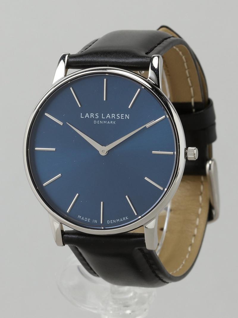 LARS LARSEN 147SDBLL OLIVER SS blue dial BK 25000 ラースラーセン ファッショングッズ【送料無料】