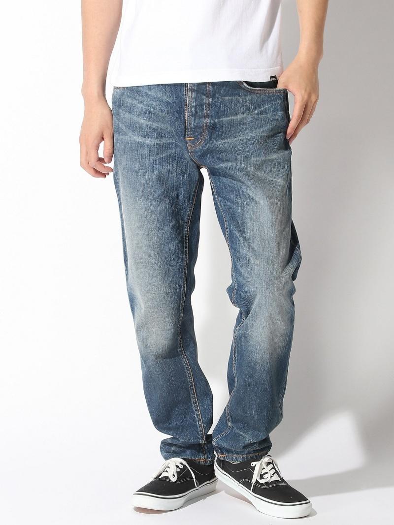 【SALE/50%OFF】nudie jeans nudie jeans/(M)Fearless Freddie ヌーディージーンズ / フランクリンアンドマーシャル パンツ/ジーンズ フルレングス ブルー【RBA_E】【送料無料】