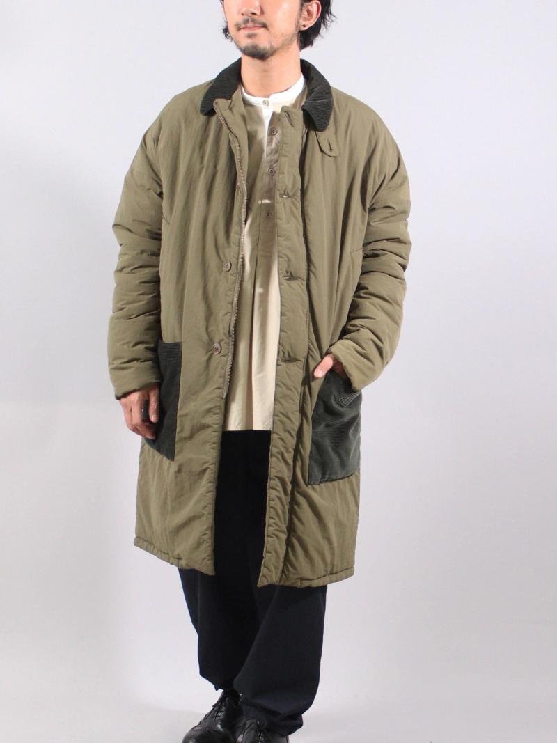 最高の 【SALE/20%OFF】ADITIONAL カーキ ナイロンコート/中綿仕様 メンズ ビギ コート/ジャケット コート ビギ メンズ/ジャケットその他 カーキ ブラック【RBA_E】【送料無料】:Rakuten Fashion Men, バイモア:7bcf6ec4 --- nagari.or.id