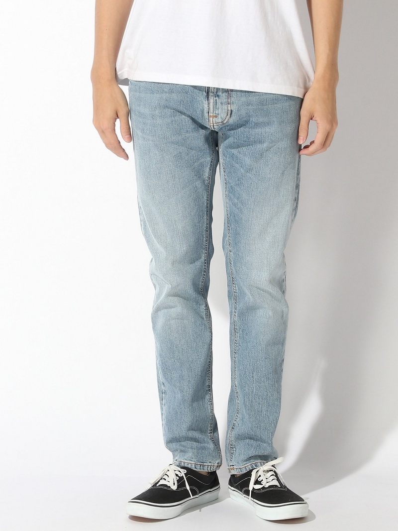 nudie jeans nudie jeans/(M)Thin Finn ヌーディージーンズ / フランクリンアンドマーシャル パンツ/ジーンズ ストレートジーンズ ブルー【送料無料】