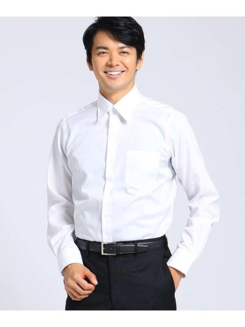 TAKEO KIKUCHI 100/2ブロードシャツ タケオキクチ シャツ/ブラウス シャツ/ブラウスその他 ホワイト【送料無料】