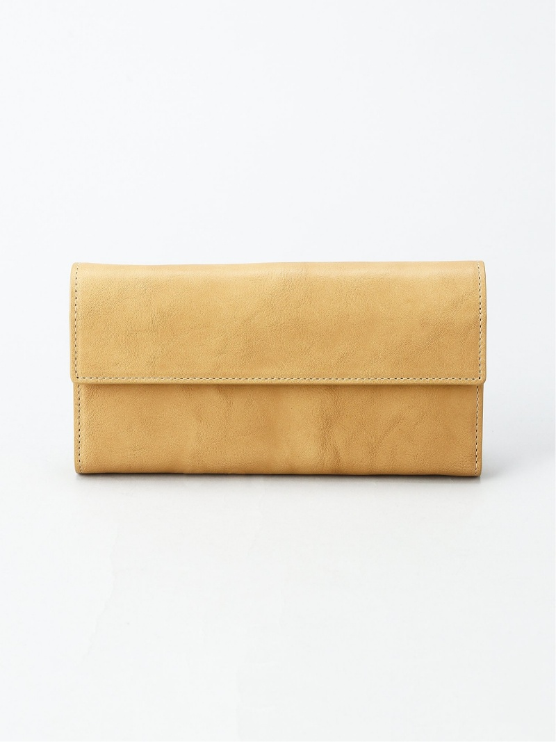 PATRICK STEPHAN Leather long wallet 'bellows' パトリック ステファン 財布/小物【送料無料】