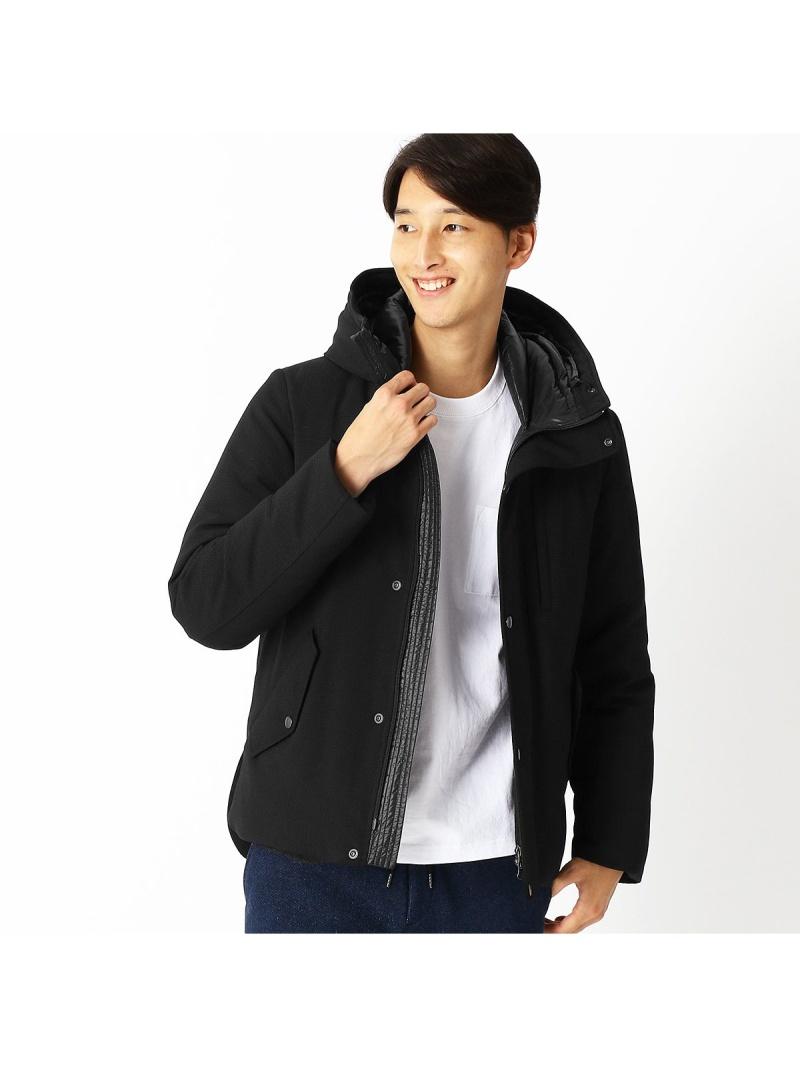 COMME CA ISM ハニカムフェイス ダウンブルゾン コムサイズム コート/ジャケット【送料無料】
