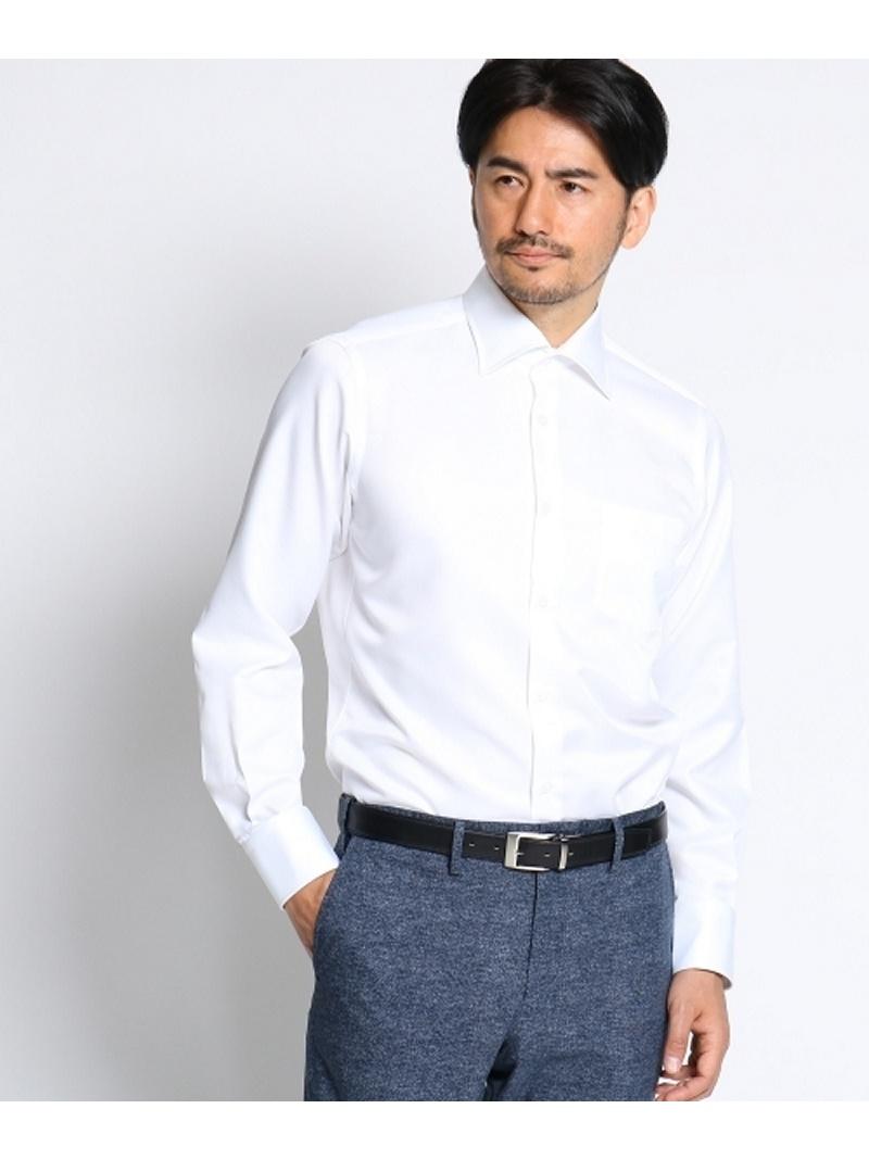 TAKEO KIKUCHI 【 洗える 】 カルゼスーパードライシャツ [ メンズ シャツ ビジネス クールビズ ] タケオキクチ シャツ/ブラウス【送料無料】