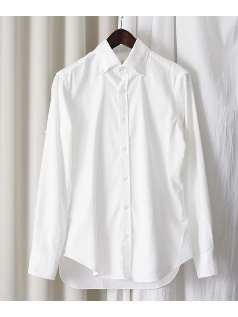 【SALE/40%OFF】giannetto ネル無地BDシャツ ナノユニバース シャツ/ブラウス【RBA_S】【RBA_E】【送料無料】