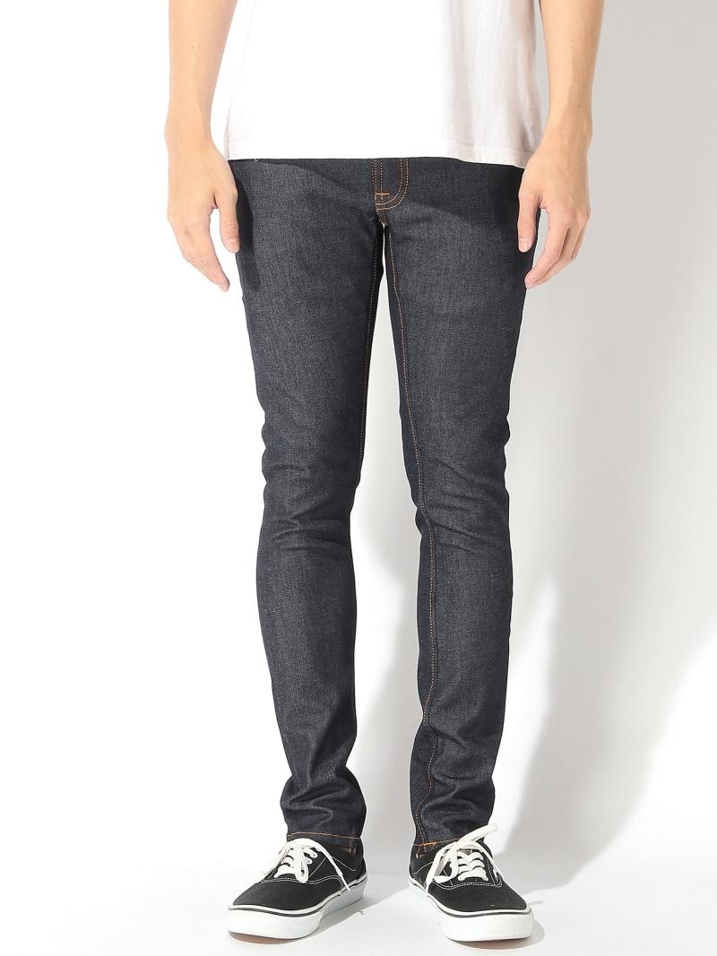 nudie jeans nudie jeans/(M)Skinny Lin ヒーローインターナショナル マーケット プレイス パンツ/ジーンズ スキニージーンズ ネイビー【送料無料】
