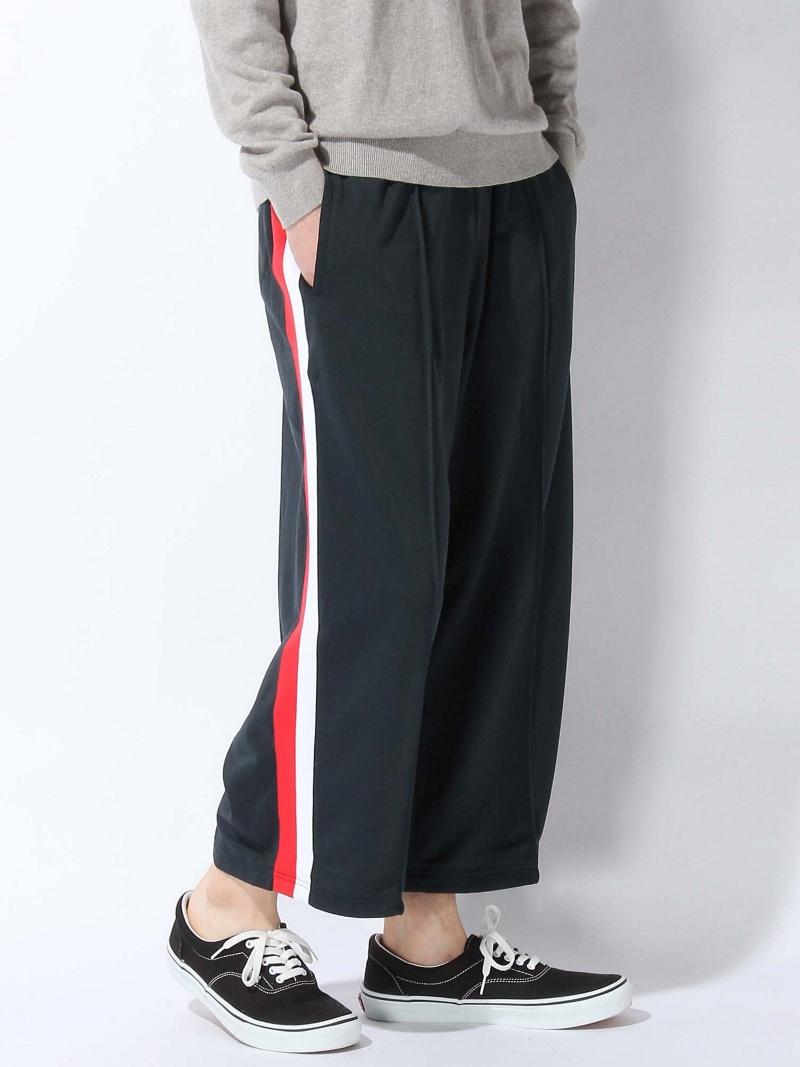 【SALE/38%OFF】VOTE MAKE NEW CLOTHES JERSY WIDE PT ヴォート メイク ニュー クローズ パンツ/ジーンズ ワイド/バギーパンツ ネイビー【RBA_E】【送料無料】