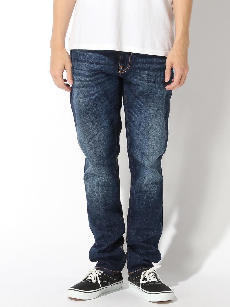nudie jeans nudie jeans/(M)Lean Dean ヌーディージーンズ / フランクリンアンドマーシャル パンツ/ジーンズ ストレートジーンズ ブルー【送料無料】