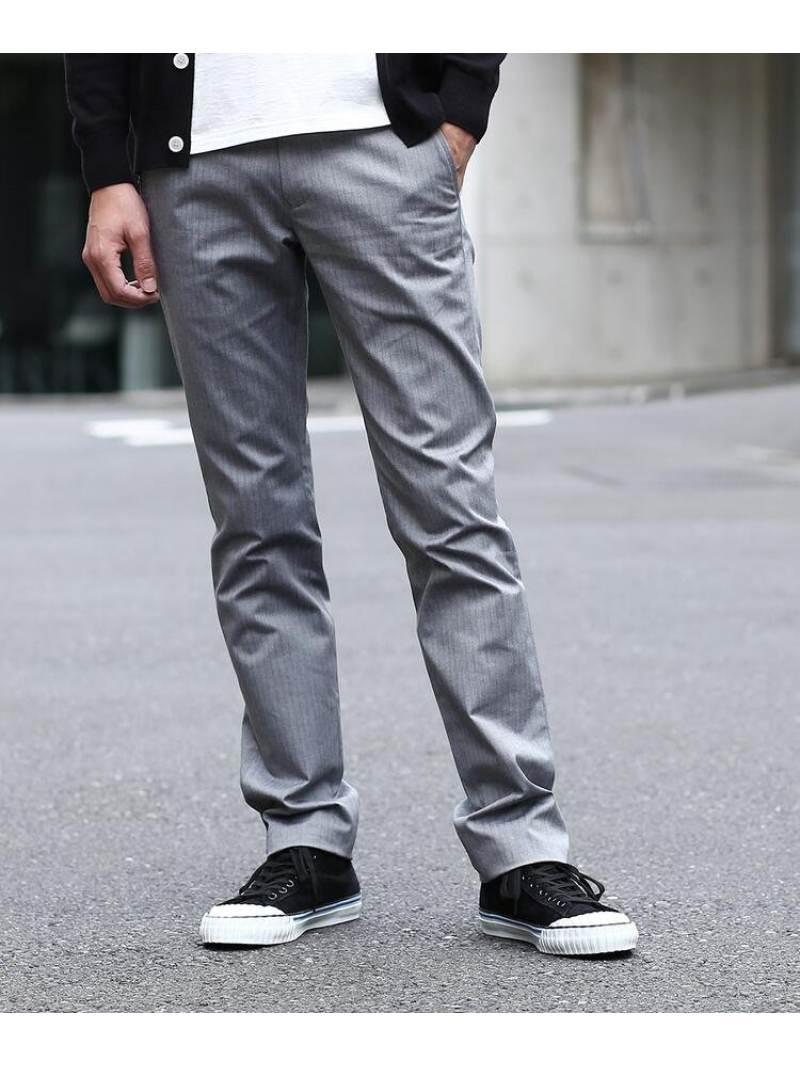 TAKEO KIKUCHI トップマルチヘリンボンストライプパンツ [ メンズ パンツ 定番 ] タケオキクチ パンツ/ジーンズ【送料無料】
