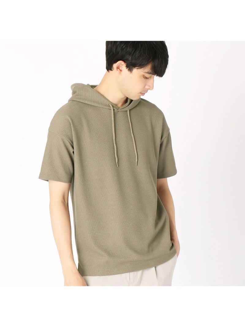COMME CA ISM パーカ プルオーバー Tシャツ コムサイズム カットソー Tシャツ ベージュ ホワイト ネイビー カーキ【送料無料】: Fashion Men