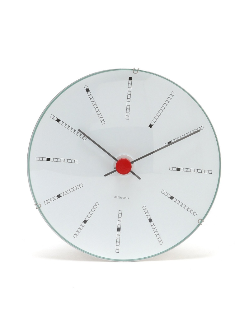 ARNE JACOBSEN (U)ARNE JACOBSEN Wall Clock Bankers 160mm アルネ ヤコブセン 生活雑貨【送料無料】