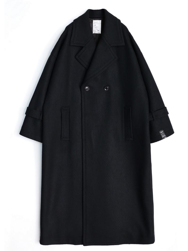 SHAREEF CASHMERE MELTON LONG COAT シャリーフ コート/ジャケット【送料無料】