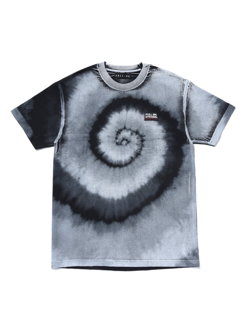 FULL-BK FULL-BK/(M)NEW TYPE TIEDYE TEE 01 バーチカルガレージ カットソー Tシャツ ブラック ホワイト【送料無料】