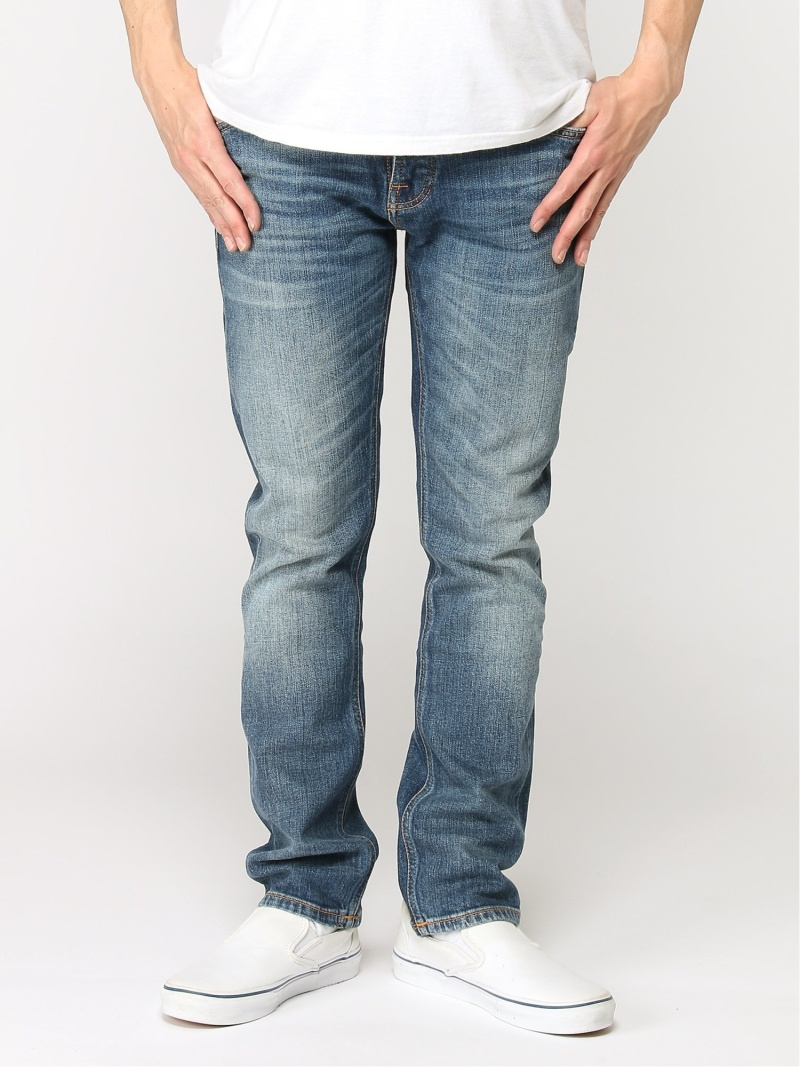 【SALE/50%OFF】nudie jeans nudie jeans/(M)Grim Tim ヒーローインターナショナル マーケット プレイス パンツ/ジーンズ フルレングス ブルー【RBA_E】【送料無料】