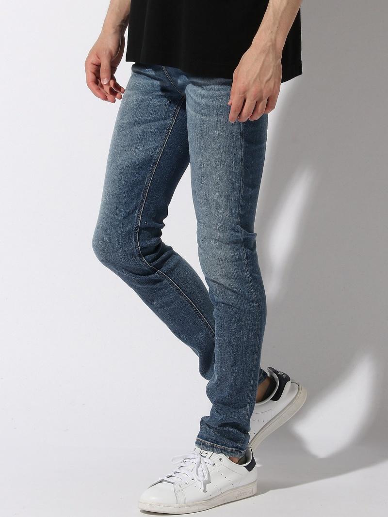 nudie jeans nudie jeans/(M)Hightop Tilde ヌーディージーンズ / フランクリンアンドマーシャル パンツ/ジーンズ ストレートジーンズ ブラック【送料無料】