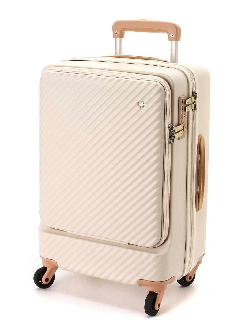 HaNT HaNT/ハント ミオ スーツケース 34リットル 便利なフロントポケット付き 1-2泊用 機内持込み対応サイズ 05750 エースバッグズアンドラゲッジ 【送料無料】