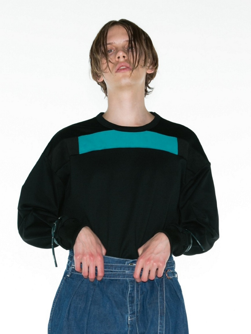 【SALE/10%OFF】SHAREEF FLEECY FABRIC PULL-OVER シャリーフ カットソー カットソーその他 ブラック ピンク【RBA_E】【送料無料】