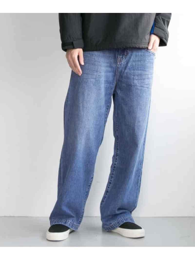 URBAN RESEARCH WHEIR Bobson BIG DETAIL JEANS アーバンリサーチ パンツ/ジーンズ【送料無料】