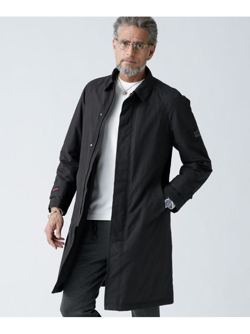 BRIEFING BRIEFING×WLG ステンカラーコート ナノユニバース コート/ジャケット【送料無料】