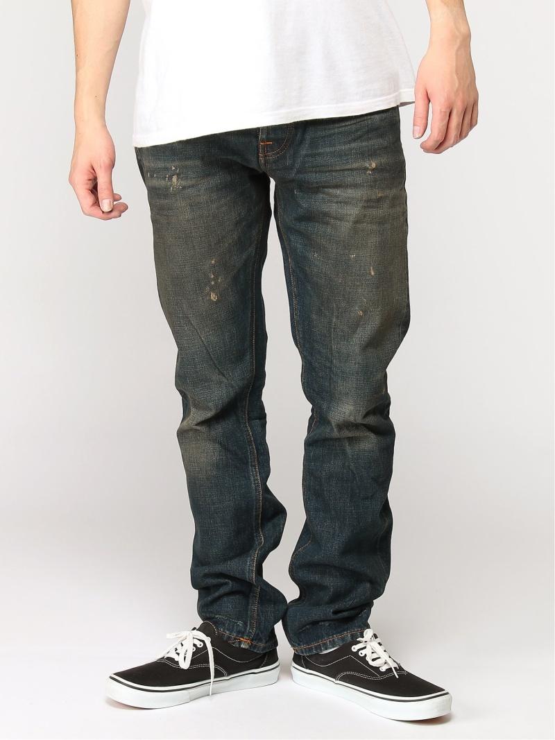 【SALE/50%OFF】nudie jeans nudie jeans/(M)Grim Tim ヒーローインターナショナル マーケット プレイス パンツ/ジーンズ フルレングス ネイビー【RBA_E】【送料無料】