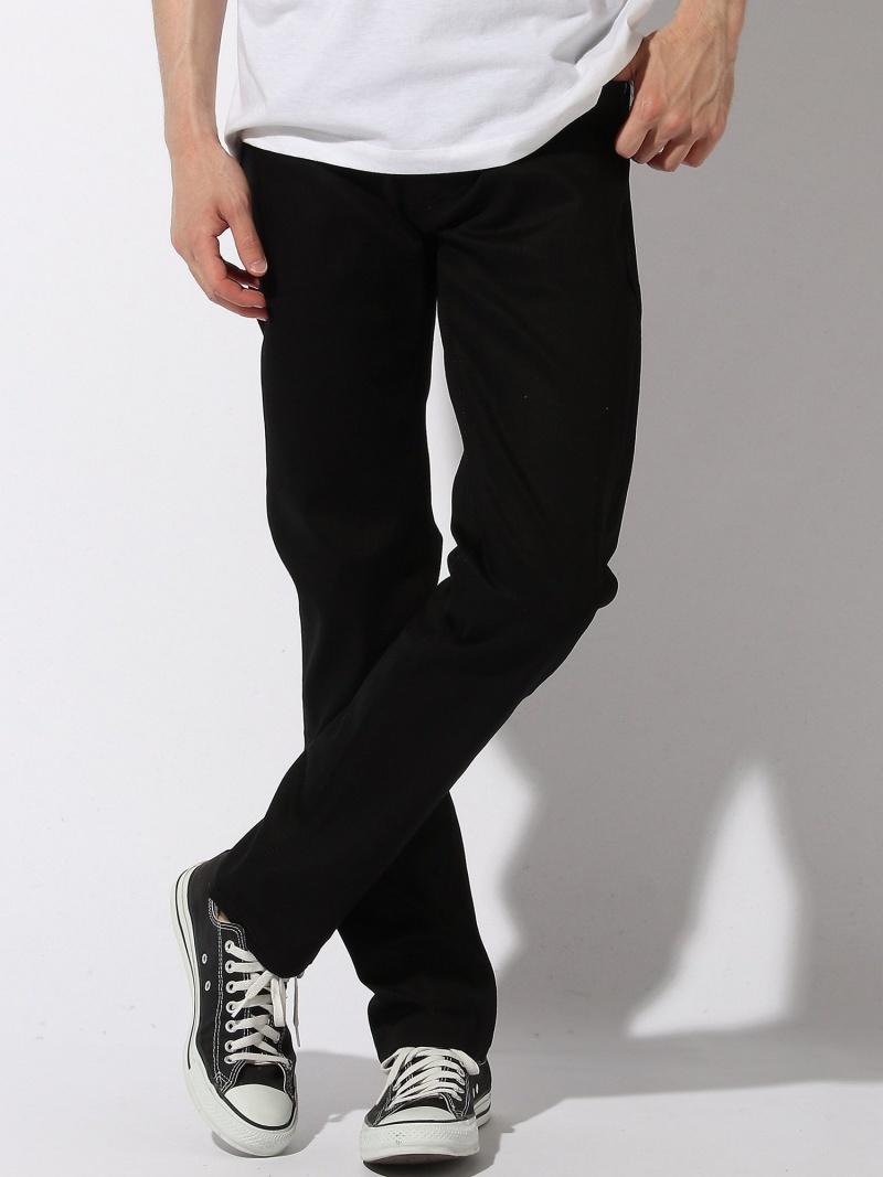 nudie jeans nudie jeans/(M)Thin Finn ヌーディージーンズ / フランクリンアンドマーシャル パンツ/ジーンズ フルレングス ブラック【送料無料】