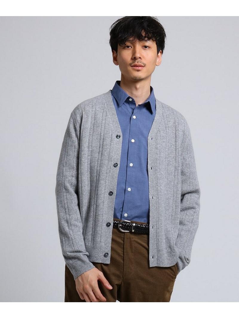 TAKEO KIKUCHI フルカシカーディガン[ メンズ ニット カシミヤ ] タケオキクチ ニット【送料無料】