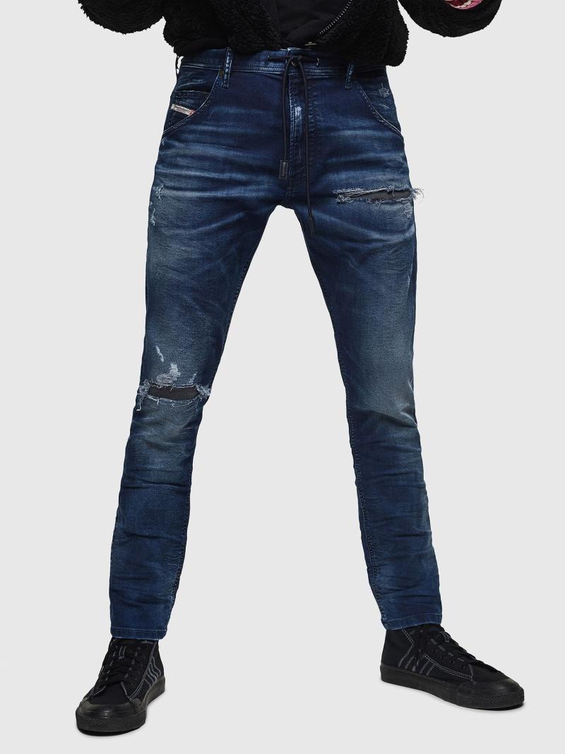 DIESEL Krooley JoggJeans 069JE ディーゼル パンツ/ジーンズ フルレングス ブルー【送料無料】