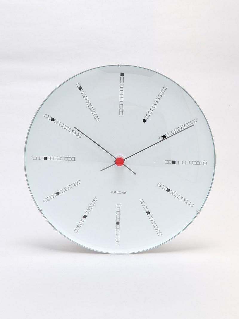 ARNE JACOBSEN (U)ARNE JACOBSEN Wall Clock Bankers 290mm アルネ ヤコブセン 生活雑貨【送料無料】
