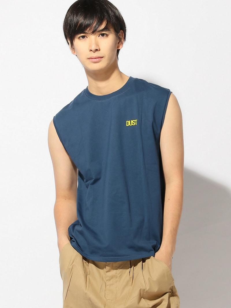 DUST DUST/(M)Sleeveless Tee アクトン カットソー【送料無料】