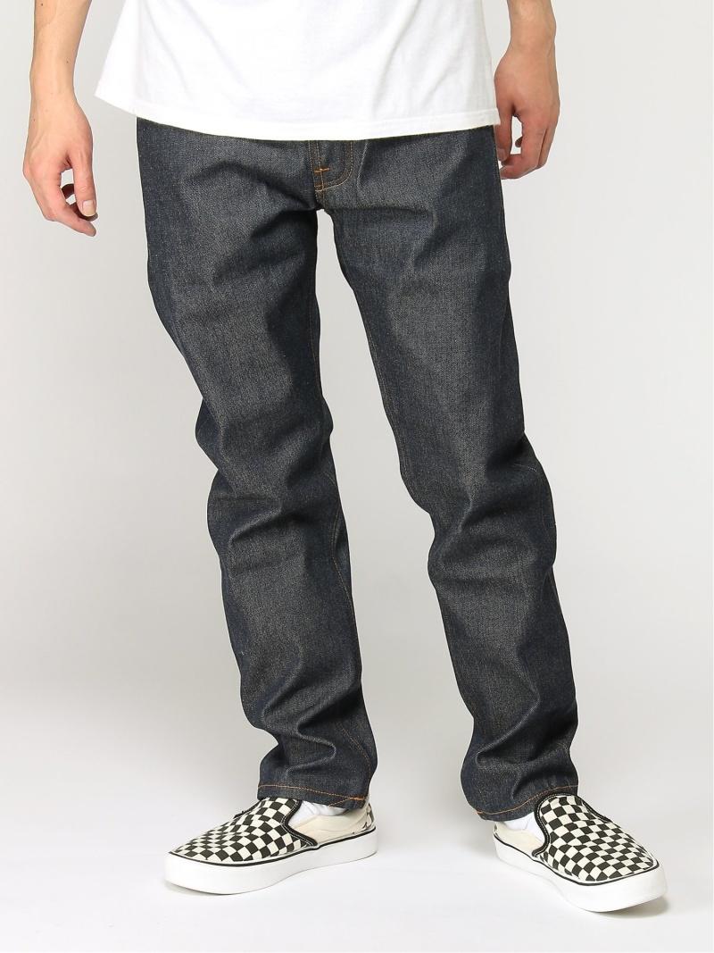 nudie jeans nudie jeans/(M)Fearless Freddie ヒーローインターナショナル マーケット プレイス パンツ/ジーンズ ストレートジーンズ ネイビー【送料無料】