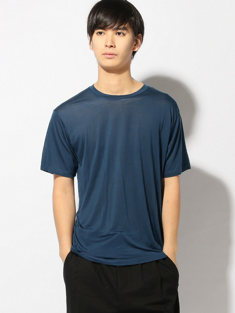 DUST DUST/(M)Rayon See-though Tee アクトン カットソー【送料無料】