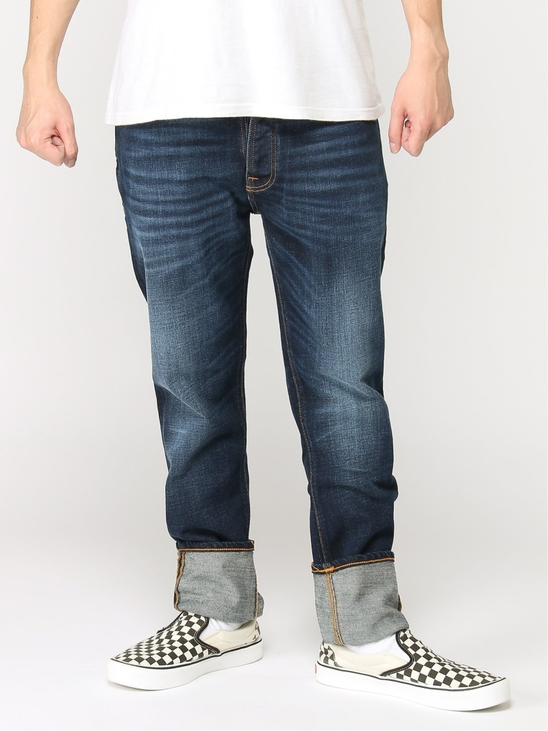 【SALE/50%OFF】nudie jeans nudie jeans/(M)Dude Dan ヒーローインターナショナル マーケット プレイス パンツ/ジーンズ ストレートジーンズ ブルー【RBA_E】【送料無料】