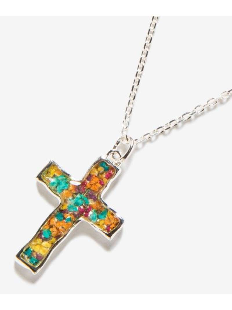 rehacer Flower cross necklace レアセル アクセサリー【送料無料】