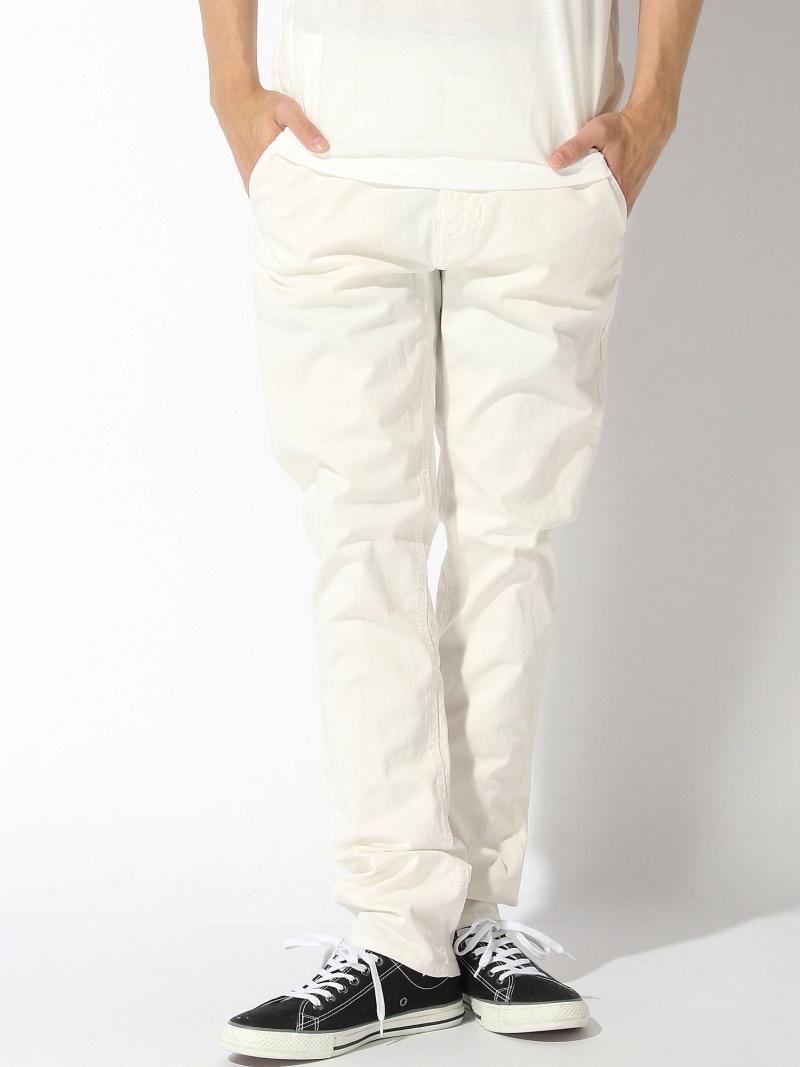 【SALE/50%OFF】nudie jeans nudie jeans/(M)Slim Adam ヌーディージーンズ / フランクリンアンドマーシャル パンツ/ジーンズ フルレングス ホワイト【RBA_E】【送料無料】