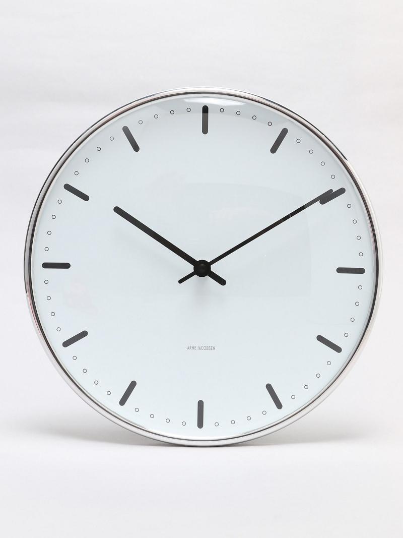 ARNE JACOBSEN (U)ARNE JACOBSEN Wall Clock CityHall 290mm アルネ ヤコブセン 生活雑貨【送料無料】