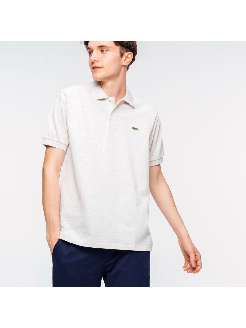 LACOSTE 『L1264』定番半袖ポロシャツ(杢糸) ラコステ カットソー ポロシャツ グリーン【送料無料】