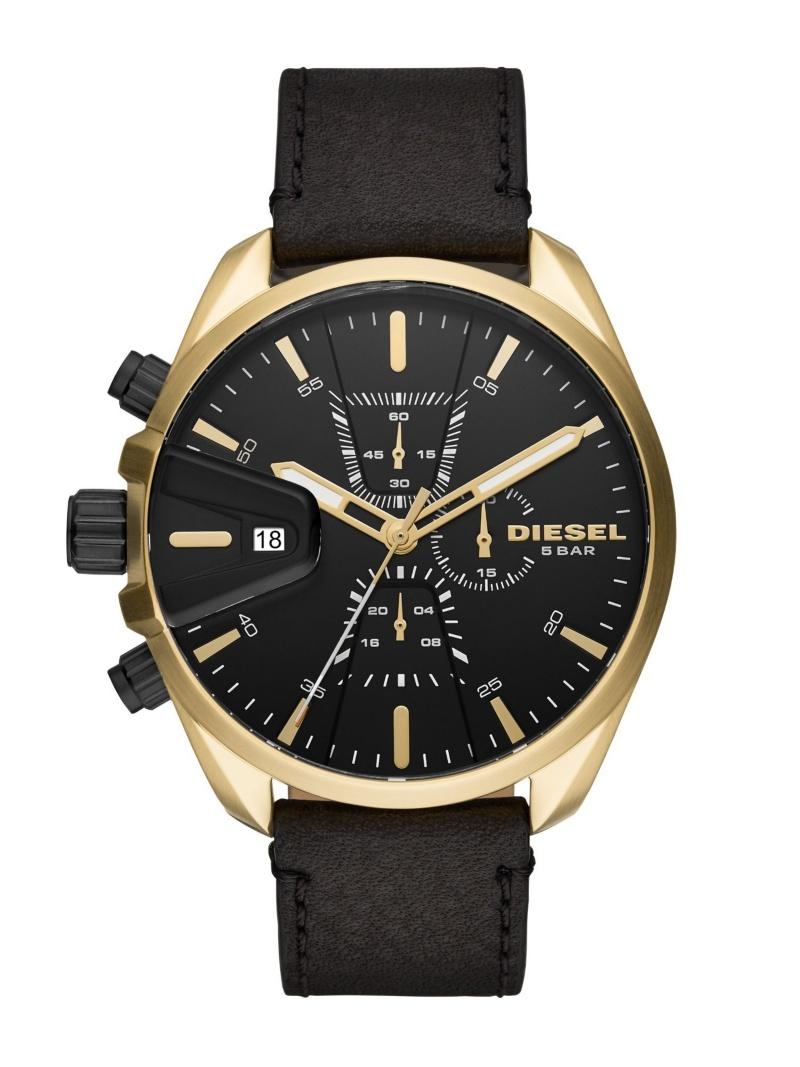 WATCH STATION INTERNATIONAL メンズ ファッショングッズ ウォッチステーションインターナショナル DIESEL 腕時計 CHRONO_DZ4516 送料無料 ブラック M セットアップ MS9 海外限定