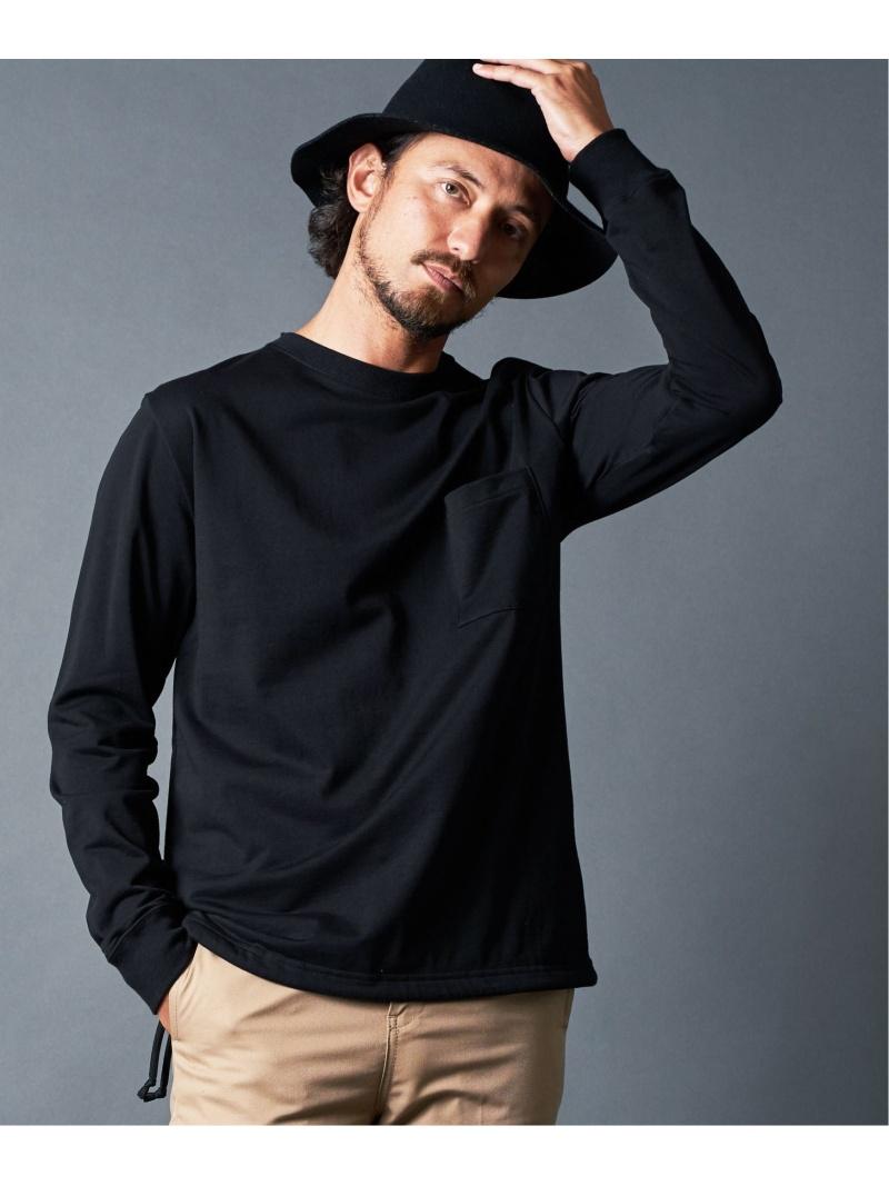 Magine HEAVY COTTON SPINDLE TEE C/N L/S マージン カットソー Tシャツ ブラック グレー ネイビー ホワイト【先行予約】*【送料無料】