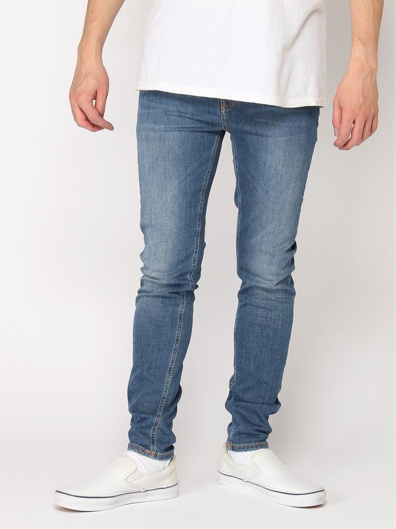 nudie jeans nudie jeans/(M)Hightop Tilde ヒーローインターナショナル マーケット プレイス パンツ/ジーンズ スキニージーンズ ブルー【送料無料】
